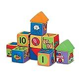 Melissa & Doug K's Kids Match & Build Blocks