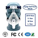 Fencia Masks Full Face and headgear Universal Adjustable (M) (Tamaño: M)