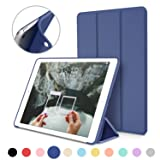 iPad Mini Case for iPad Mini 3 / 2 / 1, DTTO Ultra Slim Lightweight Smart Case Trifold Cover Stand with Flexible Soft TPU Back Cover for iPad Apple Mini, Mini 2 , Mini 3 [Auto Sleep/Wake],NavyBlue (Color: Navy Blue)