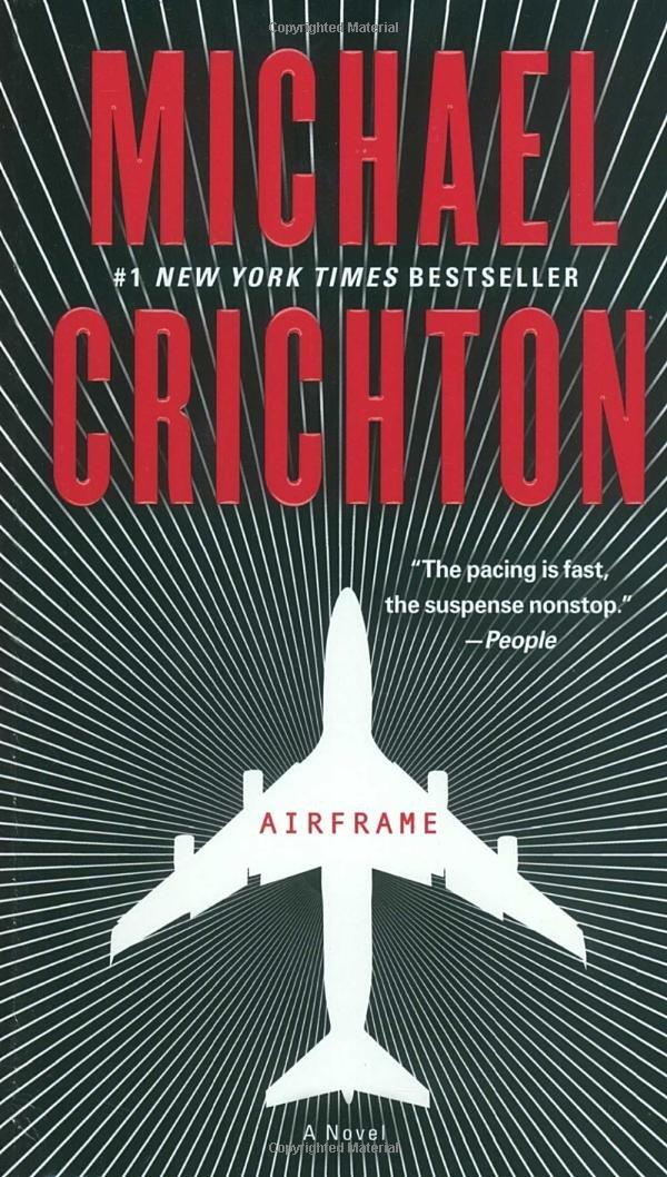 Amazon.com: Airframe: A Novel (9780345526779): Michael Crichton: Books