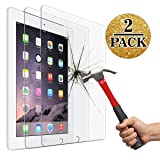 Screen Protector for iPad 2 3 4 (Oldest Models), Jusney Tempered Glass Film Compatible for Apple iPad2/iPad3/iPad4 (NOT for iPad Air/iPad 5) [2 Pack] (Color: 2 packs)