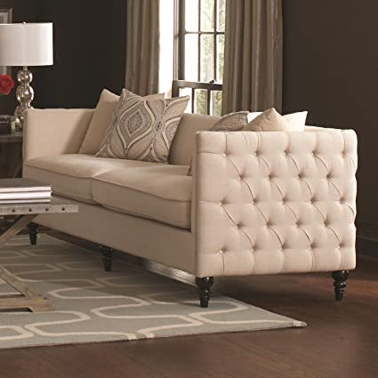 Claxton Collection Tufted Sofa