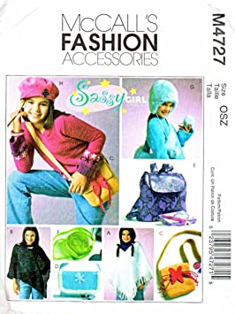 Men Fashion Accessories Patterns Mccalls Simplicity Mccall s Fashion Accessories