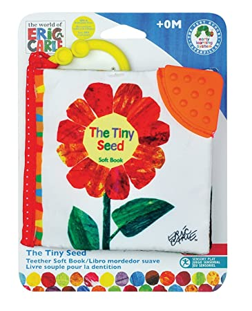 Kids Preferred The Tiny Seed Clip-On Soft Book, The World of Eric Carle