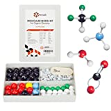 Chemistry Model Kit - Molecular Model Kit for General and Organic Chemistry - Student and Teacher Molecular Modeling Set (123 Pieces) (Tamaño: 123-Pieces)