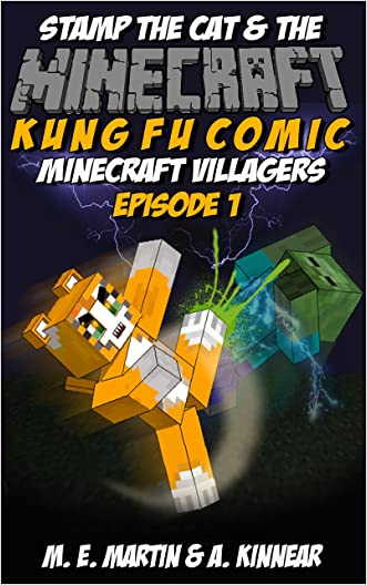 Minecraft: Stamp the Cat and the Minecraft Villagers (Master of Kung Fu Comics Book 1)
