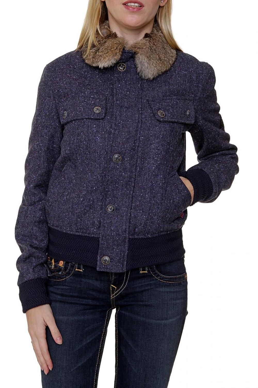 Belstaff Damen Jacke Echtfell Blouson-Jacke BRAY BLOUSON LADY, Farbe: Dunkelblau kaufen