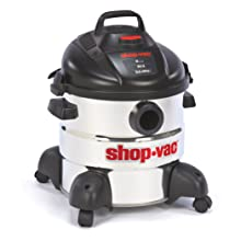 Shop-Vac 5866100 8-Gallon 5.5-Peak HP Stainless Steel Wet/Dry Vacuum