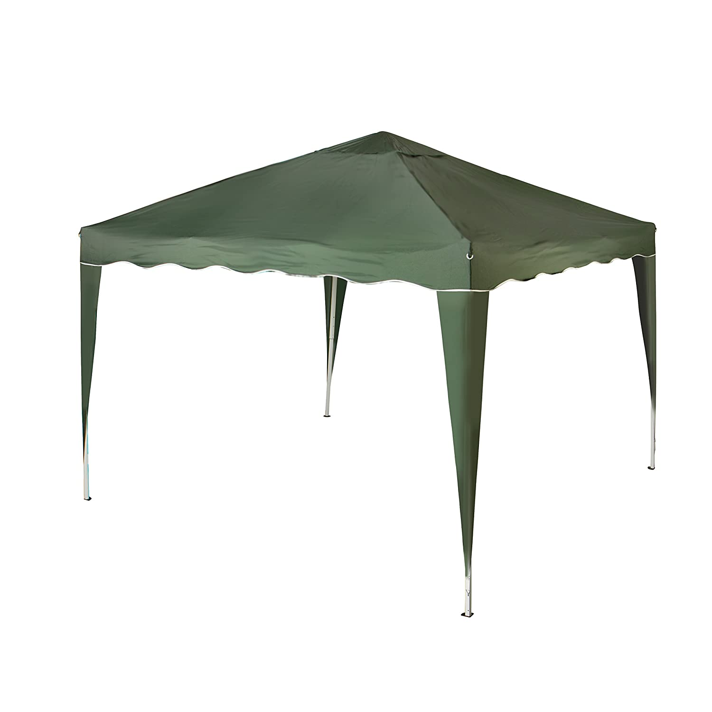 Vanage VG-9221 Pavillon Aluminium-Faltpavillon Stella inklusiv 0 Seitenteilen, grün