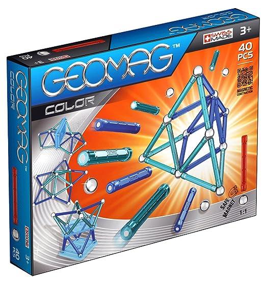 Geomag - 252 - Jeu de Construction - Color - 40 Pièces
