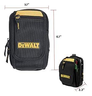 DEWALT DG5104 Accessory Pouch (Color: Black, yellow)