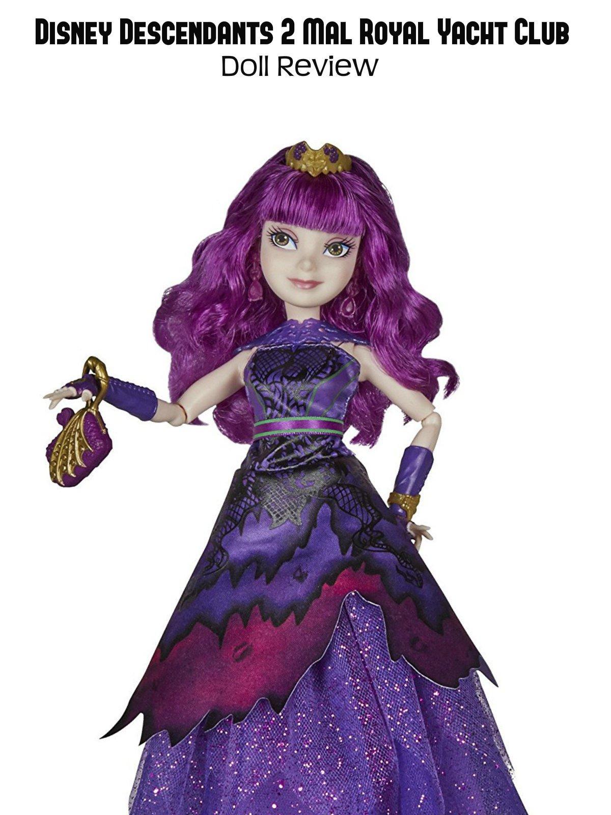 Review: Disney Descendants 2 Mal Royal Yacht Club Doll Review