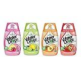 Sweetleaf Stevia Natural Water Drops Variety Pack with Raspberry Lemonade, Lemon Lime, Peach Mango & Strawberry Kiwi (1.62 Ounce Each) (Tamaño: 4 pack - 1.62 fl.oz)