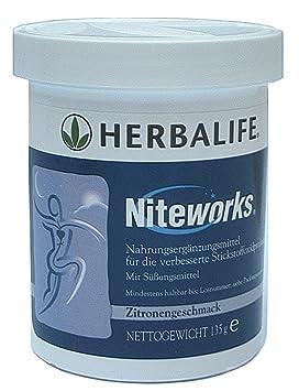 HERBALIFE Niteworks zur Unterstuetzung einer verbesserten Blutzirkulation mit L-Arginin - 135 g