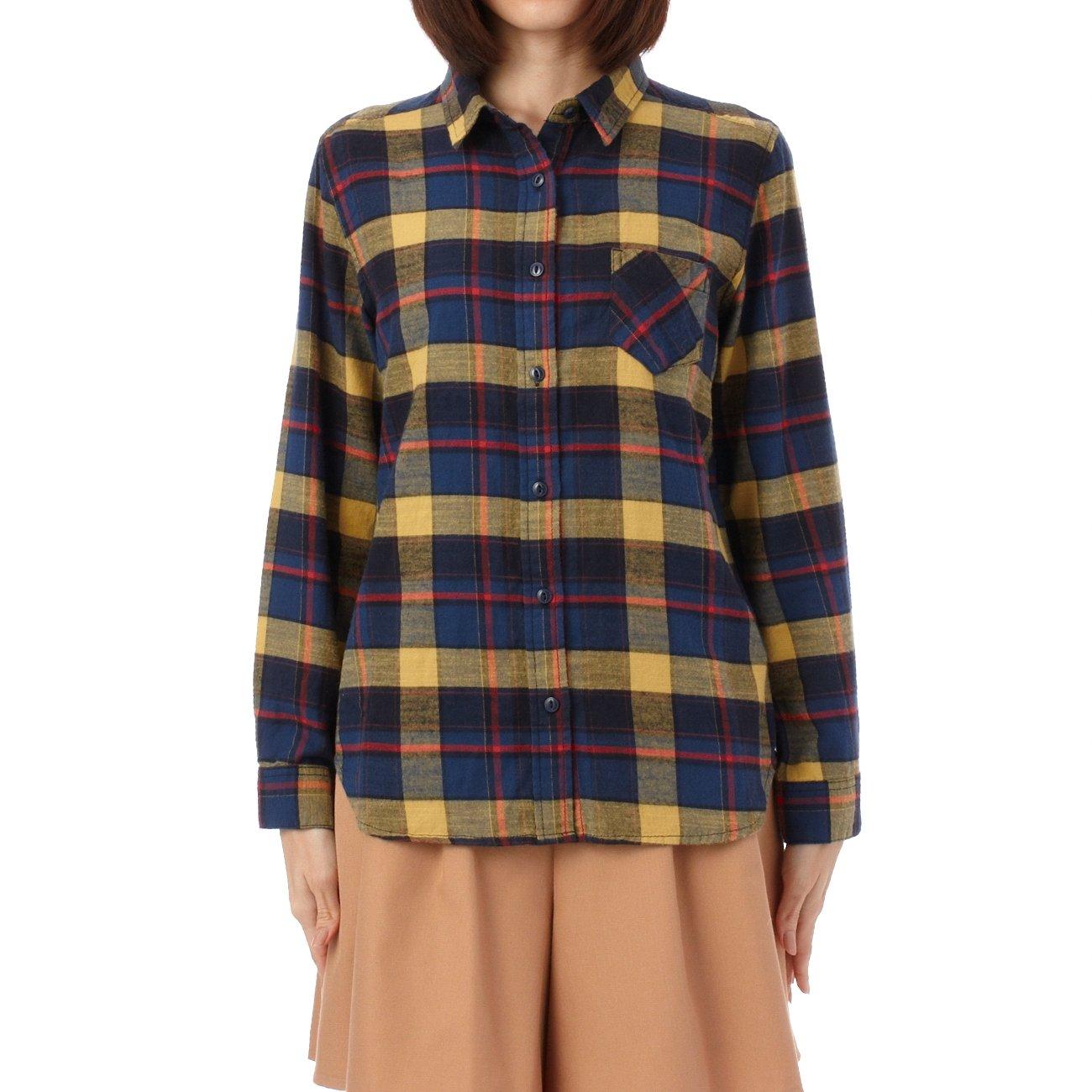Amazon.co.jp: (ジエンポリアム)THE EMPORIUM チェックネルシャツ: 服&ファッション小物通販