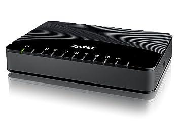 ZyXEL VMG1312-B30A Modem-routeur VDSL2 avec 4 ports Fast Ethernet WiFi 2,4 GHz b/g/n et 1 USB 2.0