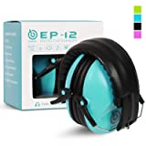 EAREST Protection Ear Muffs, Noise Reduction Safety Ear Muffs Shooting Earmuff with A Useful Carring Bag  Belt, NRR 20DB Professional Ear Defenders f