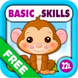 Preschool All-In-One Basic Skills: Adventure with Toy Train Vol 1: Learning Fun Educational Kids Games (letters, numbers, colors, shapes, patterns, 123s counting and ABCs reading) for Toddlers & Kindergarten Explorers! by Abby Monkey® Lite