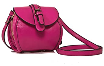 3d3c324791 Image Du Produit: OULINBEIN Femmes Et Fille Rose Rose Cuir Synthétique Sacs  portés épaule Sacs à bandoulière besace sac little marcel sac cosmétique