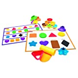 Play-Doh Shape and Learn Colors and Shapes (Color: Multicolor)