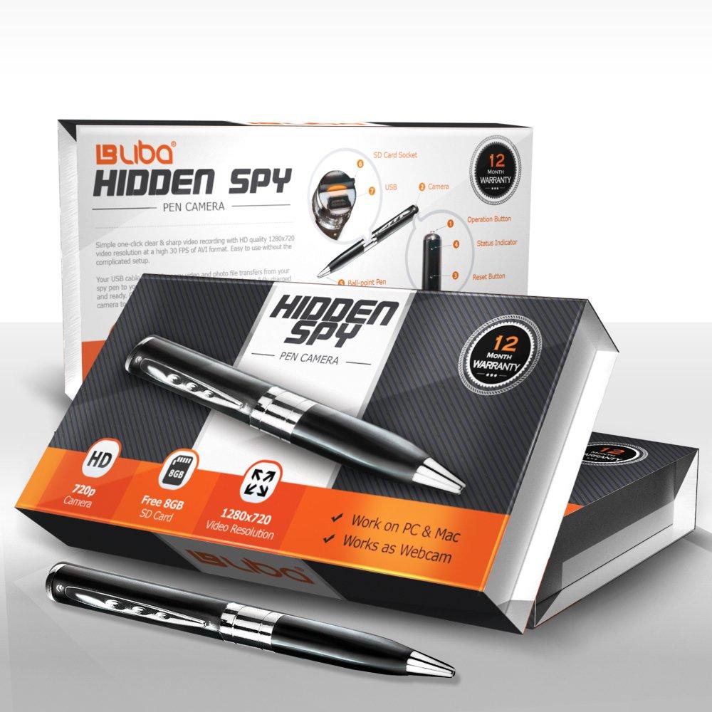 Hidden Spy Pen HD Camera & 720p Video Camera Recorder image