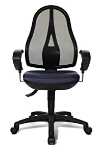 Topstar OP20UG28E Open Point SY Office Swivel Chair   Dark Blue       Office ProductsCustomer reviews and more description