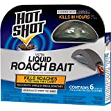 Hot Shot Ultra Liquid Roach Bait (HG-95789) (6 ct) (Tamaño: Case Pack of 1)