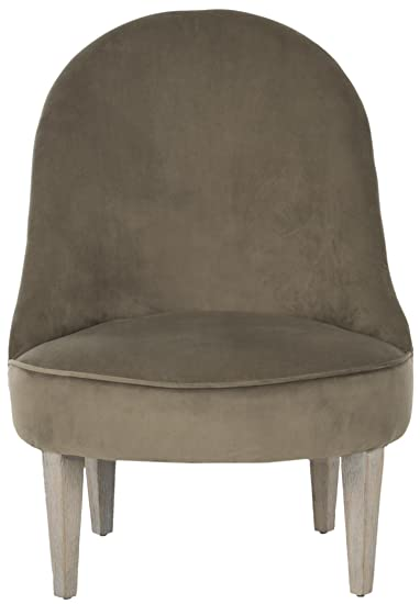 Safavieh seu1020a silla Club Graham poliéster Topo Oscuro 59x 72x 79,5cm
