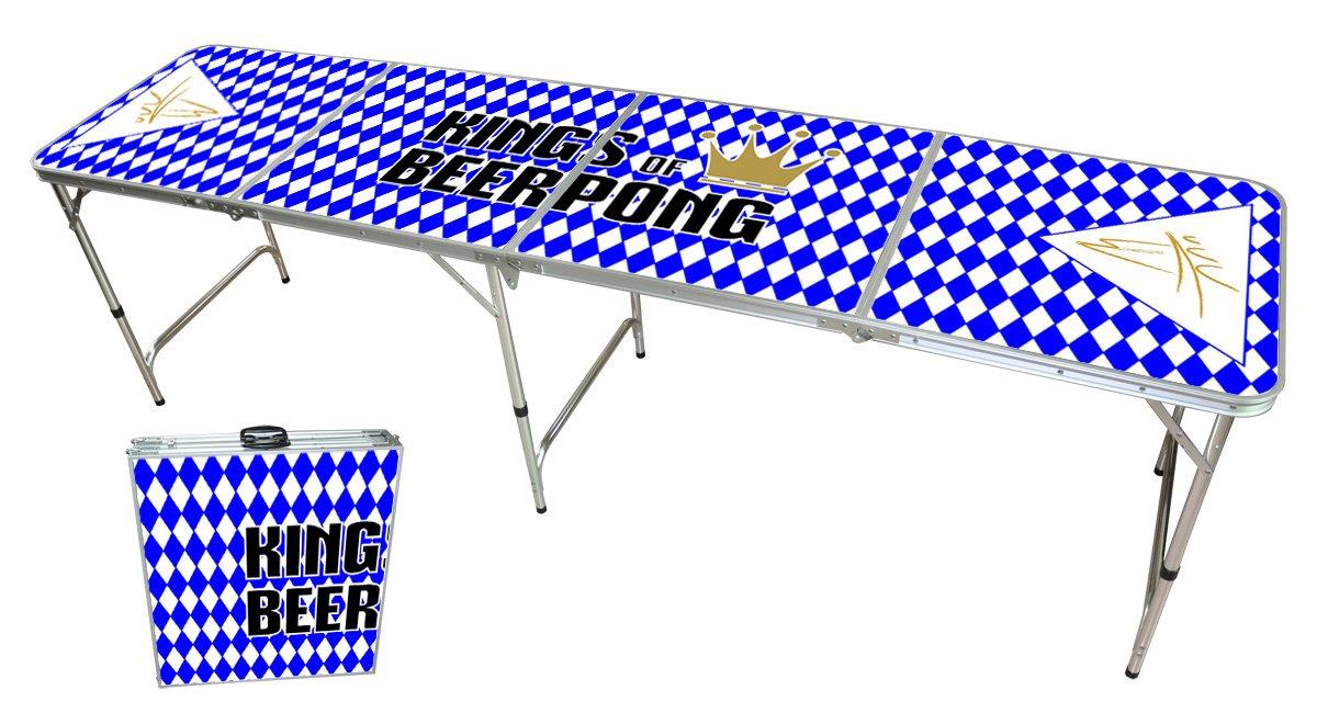 "Beer Pong Tisch – ""Kings of Beerpong""-Design – Beer Pong Table ""Bavarian Edition"" kaufen"