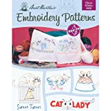 Aunt Martha's Clever Kitties Embroidery Transfer Pattern Book Kit (Color: Multi)