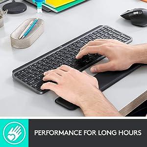 Logitech MX Master 3 Advanced Wireless Mouse - Graphite Bundle with Logitech MX Palm Rest (Color: Graphite)