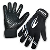 Tenn Cold Weather / All Weather Waterproof Windproof Cycling Gloves - Black M (Mens)