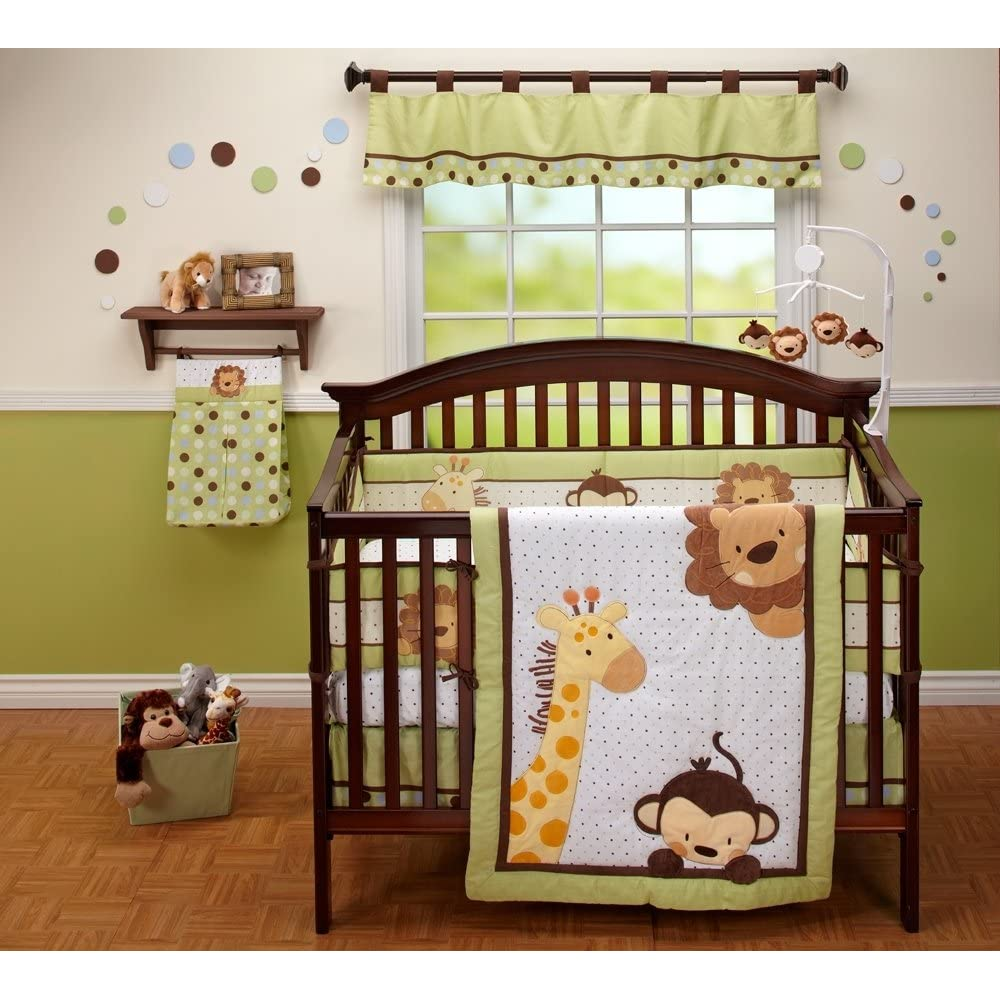 Show me your baby bedding for Cabin themed nursery