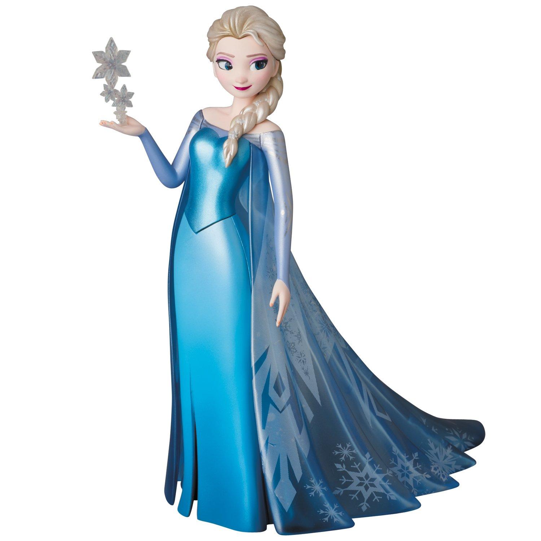 VCD アナと雪の女王 エルサ ノンスケール PVC製 塗装済み 完成品 フィギュア [メディコム・トイ]