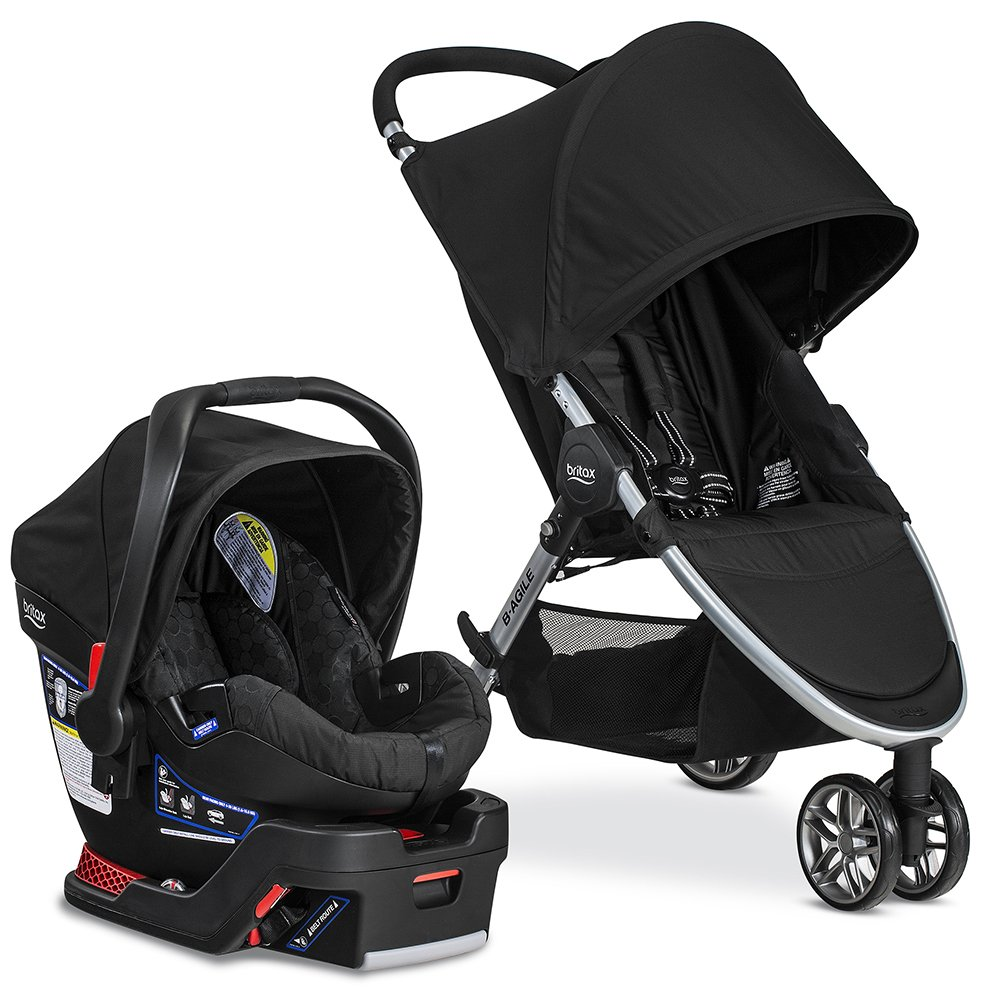 Britax 2016 B-Agile/B-Safe 35 Travel System, Black