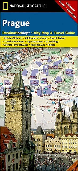 Prague (National Geographic Destination City Map)