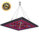 KINGBO 45W LED Plant Grow Light Panel Full Spectrum Reflector 225 LEDs 6-Band Includ UV IR with Switch for Indoor Plants Seeding & Growing & Flowering (Color: 1-X45 Watt)