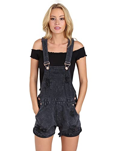 One Teaspoon Short Overalls One Teaspoon Women s Le Hawk