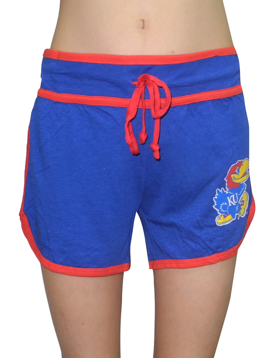 Womens KANSAS JAYHAWKS Running / Athletic Shorts