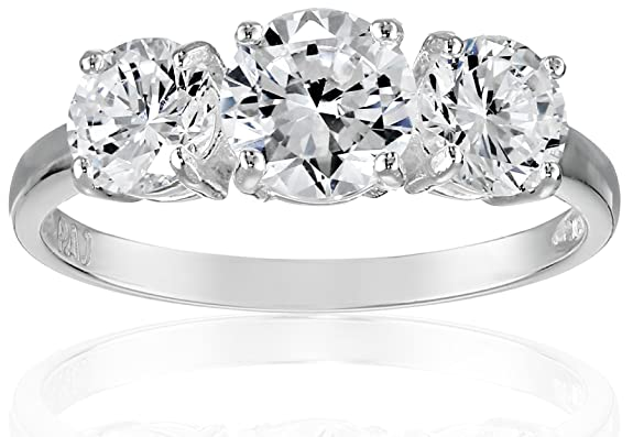 Sterling-Silver-Three-Stone-Cubic-Zirconia-Ring-3-83-cttw-