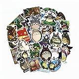 Totoro Sticker Sheet 50-Piece Multicolor Totoro Vinyl Stickers (50pcs) (Color: Multi Colored)