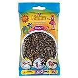 Hama Beads - Dark Brown (1000 Midi Beads) (Color: Brown - 12)