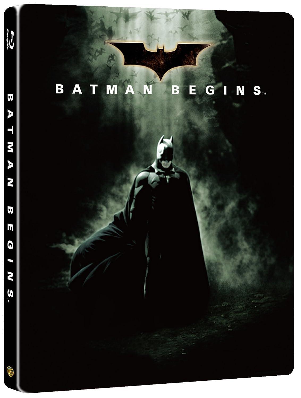 バットマン ビギンズ ブルーレイ スチールブック仕様