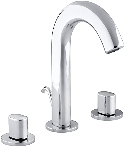 KOHLER K-10086-9-CP Oblo Lavatory Faucet, Polished Chrome