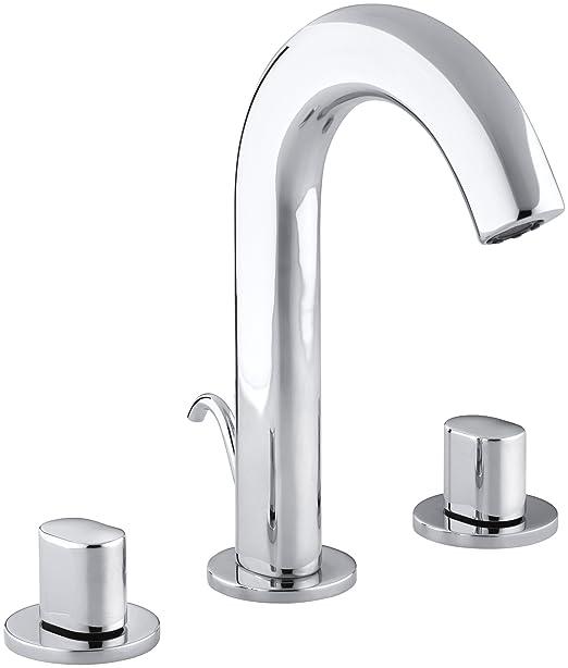 KOHLER K-10086-9-CP Oblo Lavatory Faucet, Polished Chrome