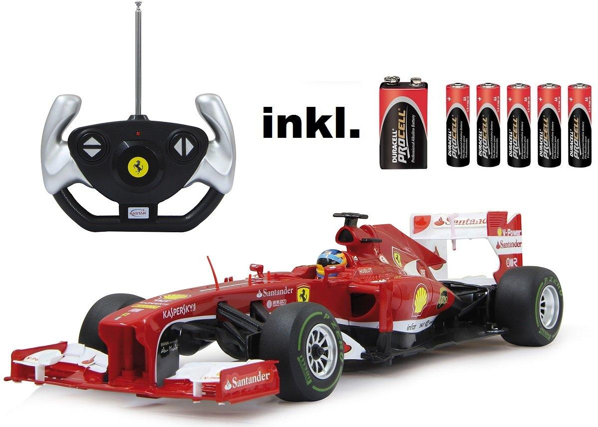 RC Ferrari F1 1:12 Rennwagen ferngesteuert Version 2013 – inkl. Batterien – LIZENZ-Nachbau günstig kaufen