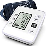 Blood Pressure Monitor Upper Arm Accurate Automatic BP Machine Dual Mode+99 Set Memory with Voice Broadcast Large LCD Screen Adjustable Cuff Suitable for Home Use (Color: Blood Pressure Monitor-d)