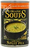 Amy's Light in Sodium Organic Split Pea Soup, 14.1-Ounce Cans (Pack of 12)