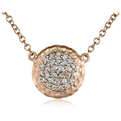 Phillips Frankel's Affair Rose Gold Diamond Necklace, 18