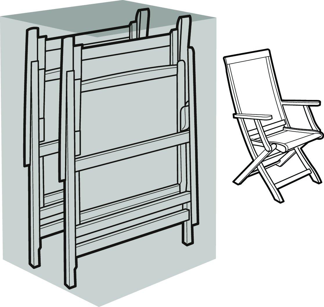 Eigbrecht 140251 Robusta Abdeckhaube Schutzhülle für 4 Sessel geklappt grau 60x90x80cm online bestellen